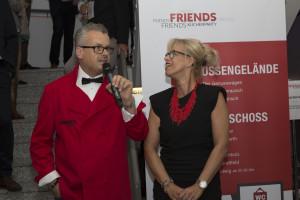 during Benifizveranstaltung -Friends- at Küchenstudio Meiser, Steinheim on 23.09.17. Photo: Ali Daouk