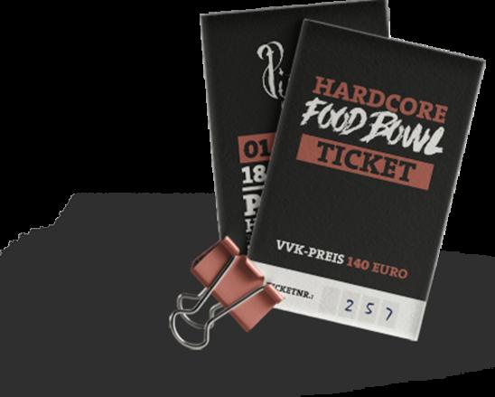 Hardcore Food Bowl Festival am 01.06.2019 bei PISTOLE in 49635 Badbergen –       LEROY'S ist mit am Start